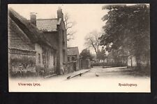Ruddington near West Bridgeford - Vicarage Lane - printed postcard