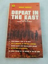 Defeat In The East Juergen Thorworld Ballantine Books 1959 Paperback Fast Ship