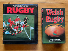New listing Rugby by Gareth Edwards & Welsh Rugby The Crowning Years 1968-1980 RUGBY BOOKS