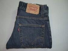 Mens LEVI'S STRAUSS 511 Blue Slim Skinny Denim Jeans W32 L34
