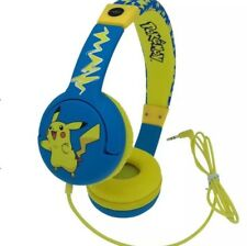 OTL Pokemon PIKACHU Children's Headphone For Ages 3-7 Years