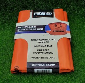 Scent Crusher Multi-Use Scent Free Tote Carry Bag & Dressing Mat - 59305