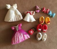 Minnie Mouse clothing Disney Parks Stretch Polly Pocket doll clothes lot set