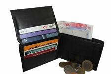 MENS LUXURY SOFT QUALITY LEATHER WALLET, CREDIT CARD HOLDER, PURSE BLACK 102