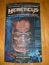 HERETICUS by DAN ABNETT 1st THE EISENHORN TRILOGY #3 (Warhammer 40,000)