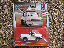 DISNEY PIXAR CARS BRIAN FEE CLAMP DELUXE PISTON CUP REPORTERS SERIES