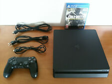 PlayStation 4 PS4 slim 500 gb Completa Come nuova +1 gioco_ Pulita -Invio Veloce