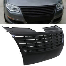 BLACK BADGELESS DEBADGED FRONT RADIATOR GRILL GRILLE FOR VW PASSAT B6 3C 05-10