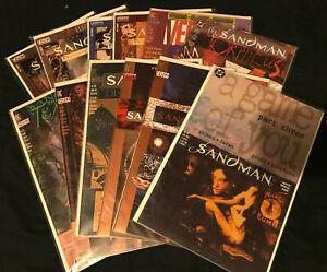 12 Issue DC Vertigo Sandman lot Neil Gaiman