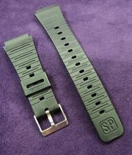 NOS Casio CA-20MF Black PVC 20mm Watch band