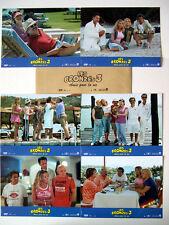 LES BRONZES 3 - Lhermitte,Balasko,Blanc,Jugnot - JEU 6 PHOTOS / 6 FRENCH LOBBY
