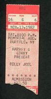 Original 1982 Billy Joel Concert Ticket Stub Buffalo NY Nylon Curtain Allentown