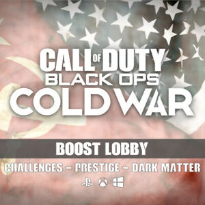 Call of Duty: Black Ops Cold War Boost Bot Lobby Recovery PS4/XBX/PC/PS5