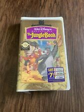 The Jungle Book (VHS, 1997, 30th Anniversary Limited Edition) New Sealed Mowgli