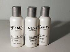 (3) Nexxus Therappe Luxurious Moisturizing Shampoo 3oz Travel