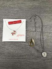 Swarovski Jewelry Lot Necklaces Pendant Minnie