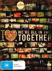 "HILLSONG Brand New DVD Region 4 (Aus) & Bonus CD ""WE'RE ALL IN THIS TOGETHER"""