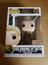 Funko Pop Ser Brienne of Tarth game of thrones box lunch exclusive