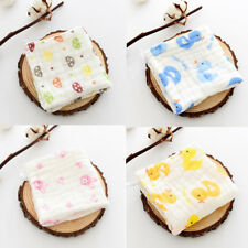6 Layer Baby Bibs Towel Cotton soft saliva towel Toddler Lunch Bibs Burp Clothes