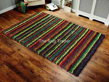 Polyester Kitchen Striped Rugs