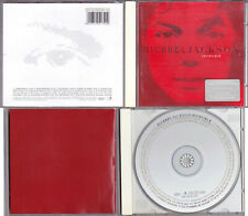 Michael Jackson INVINCIBLE CD Album Rouge Red Rot Cover Collector 2001