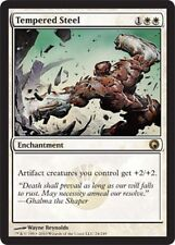 Scars of Mirrodin ~ TEMPERED STEEL rare Magic the Gathering card