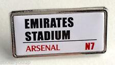 Arsenal F.C. Emirates Stadium Enamel Lapel Pin Badge Official Merchandise