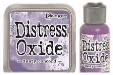 Dusty Concord Distress Oxide Pad + Reinker Lot - Tim Holtz Bundle