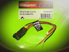 Voltage Modul mit SBEC 22.2V für GR-10C Nr.: S8446.MB von Graupner