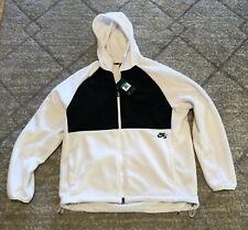 NEW Sz XL Men's Nike SB Polartec Therma Hoodie White 938347-100 $100