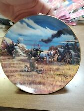 Hard Days Work The American Farmer 1992 Danbury Mint Collector Plate Cp34