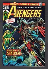 Avengers #124 Vs. The Stalker Marvel Comics VF/NM 1974 Thor Black Panther Vision