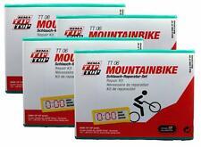 Four (4) REMA Bike Tube Tire Patch Repair Kits w/ air cartridges TT06 (23) TT O6