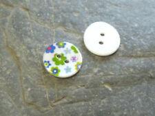 Markenlose Knöpfe zum Nähen aus Perlmutt runde