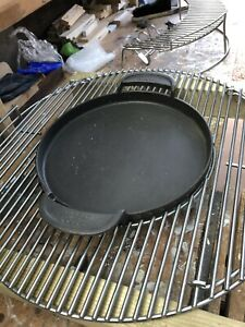 weber cast iron Griddle Pan For BBQ