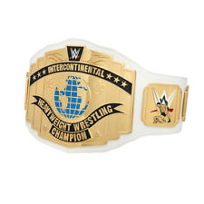 Official WWE Authentic  White Intercontinental Championship Commemorative Title
