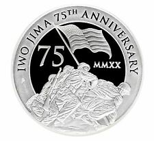 New Listing2020 $2 Iwo Jima 75th Anniversary 2oz Silver Proof Coin