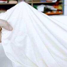 weiss SOMMER Baumwolle T-Shirt Jersey Jerseystoff Stoff Kleiderstoff Meterware
