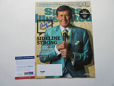CRAIG SAGER SIGNED SPORTS ILLUSTRATED MAGAZINE PSA/DNA COA AB78762 STRONG TNT
