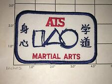 Ats Martial Arts Patch