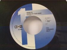 "ROXETTE ""CHURCH OF YOUR HEART / I CALL YOUR NAME"" 45 MINT"