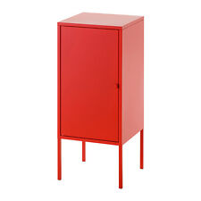 Ikea LIXHULT Cabinet Cupboard,Home Office Storage Living,Metal,Green,Red,35x60cm