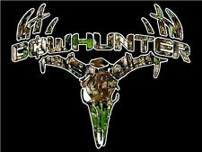"""3.25"""" CAMO BOWHUNTER Bow Hunting Sticker / Decal Archery compound bow and arrow"""