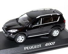 PEUGEOT 4007 Negro Metalizado 1:43 , NOREV
