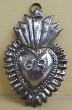 BEAUTIFUL &  HOLY EX-VOTO MILAGRO  STERLING SILVER 925  OLD
