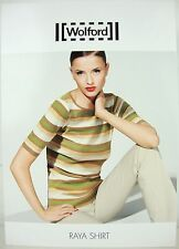 WOLFORD RAYA SHIRT 59766 Nature Damen Shirt Bluse Tshirt Gr.S NEU mit KARTON OVP