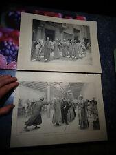 Exposition Universelle Paris 1889 Aniers Egyptiens rue du Caire Meyer Ane Egypte