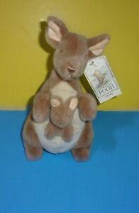 "Gund Disney Classic Pooh 10"" Kanga & Roo Plush Stuffed Animal Kangaroo w/ Tag"