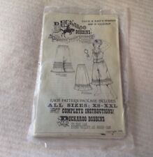 BUCKAROO BOBBINS AUTHENTIC VINTAGE WESTERN CLOTHING PATTERN WOMEN'S FRILLIES