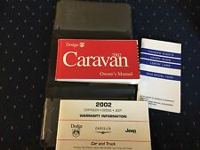 2002 Dodge Caravan Owners Manual